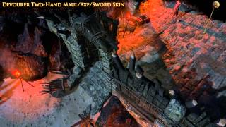 Path of Exile - Devourer Two-Hand Maul/Axe/Sword Skin