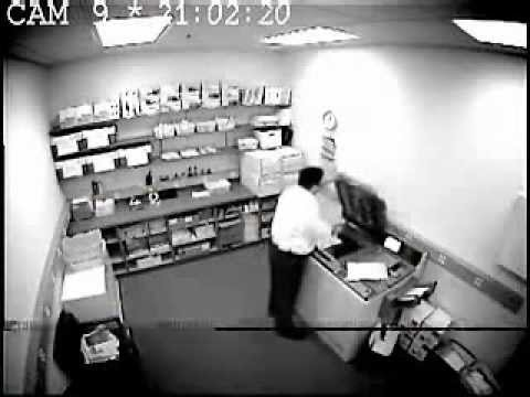 Hilarious things caught on CCTV