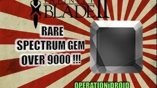 Infinity Blade 2_ How To Get Rare Spectrum Gem +1000