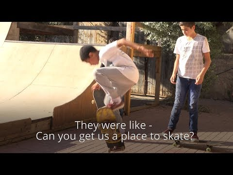 The Palestinian skaters from Qalqilyah