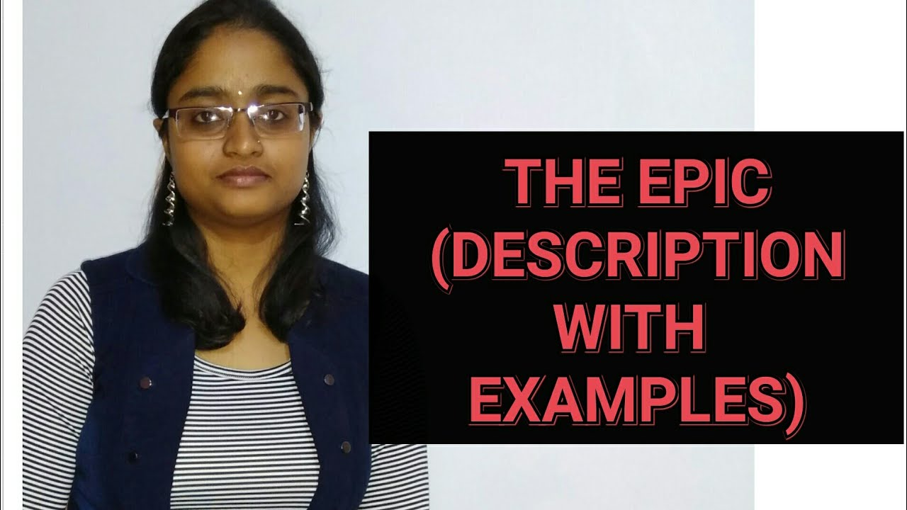 The Epic Lecture In Hindi Definition Examples Youtube