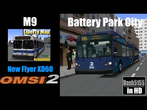 Liberty Route M9 with New Flyer XD60 - OMSI 2