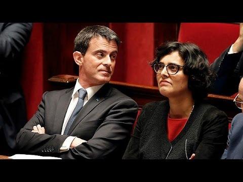 Fransa Başbakanı Valls çalışma Yasası Tasarısıyla Ilgili Mecliste Oylamaya Gitmeyecek