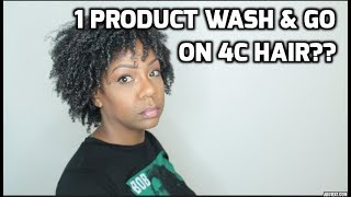 ONE PRODUCT WASH AND GO?