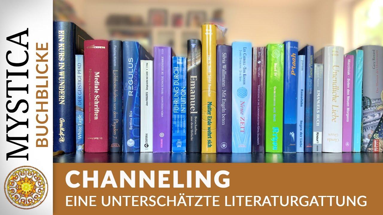 Download BUCHBLICKE: Channeling - eine unterschätzte Literaturgattung (MYSTICA.TV)