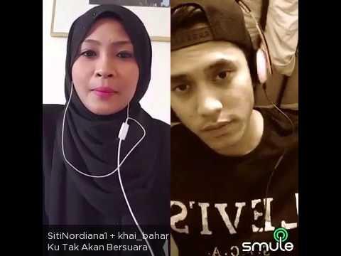 Ku Tak Akan Bersuara Cover By Khai Bahar & Sitinordiana