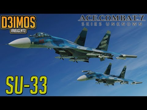 ACE COMBAT MISSAO 16: SU-33! ESCOLTA!