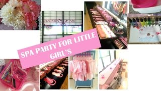 HOW TO - GIRLS SPA PARTY💅💄🎉