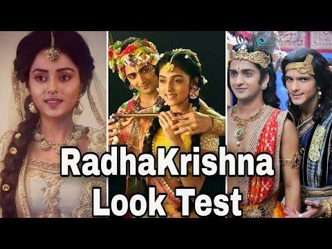 Radhakrishna serial Look Test
