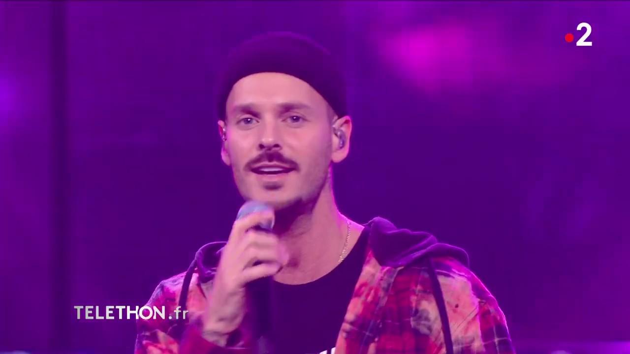 Matt Pokora chante pour le Téléthon   Téléthon 2019 - YouTube