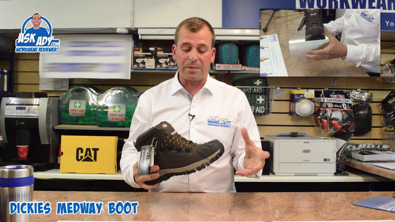 c220aa76226 Ask Ady Reviews the Dickies Work Boots , Medway Super Safety Hiker Boot  MkII FD23310