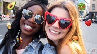 Klaudia mit K und ich haben ein Date 😍 - Was essen Models so ? | Abigail