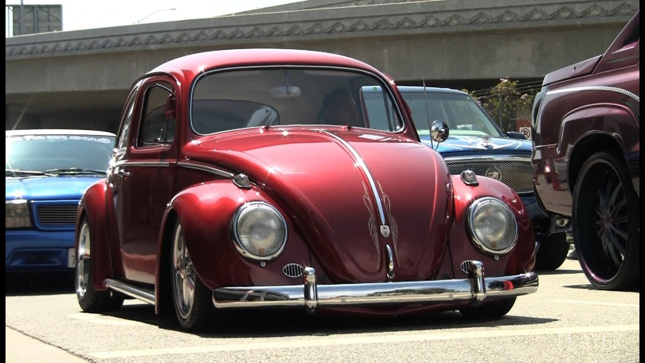 bagged volkswagen beetle los angeles youtube. Black Bedroom Furniture Sets. Home Design Ideas