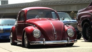 BAGGED VOLKSWAGEN BEETLE- LOS ANGELES