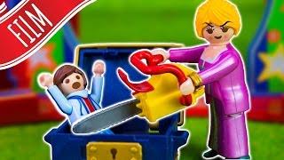 Playmobil Film   Die wollen Felix im Zirkus zersägen 😱 mit 👨👩👧👦  Familie Sandmann