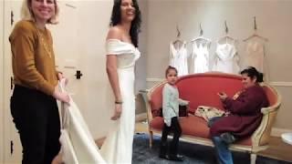 BHLDN 2018 Wedding Dress Try-ON