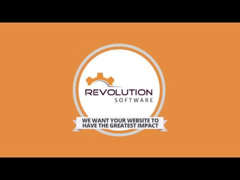 Web Development - Why Work With Revolution Software?
