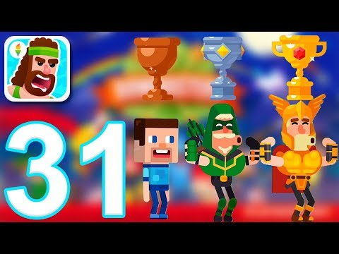 Bowmasters - Gameplay Walkthrough Part 31 - All Tournaments (iOS)