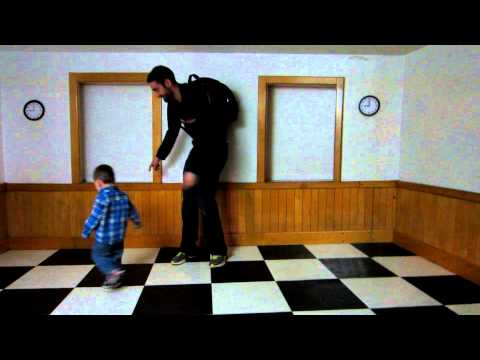 Ames Room Illusion