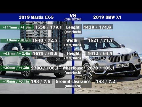 2019 Mazda Cx 5 Vs 2019 Bmw X1 Technical Comparison Youtube