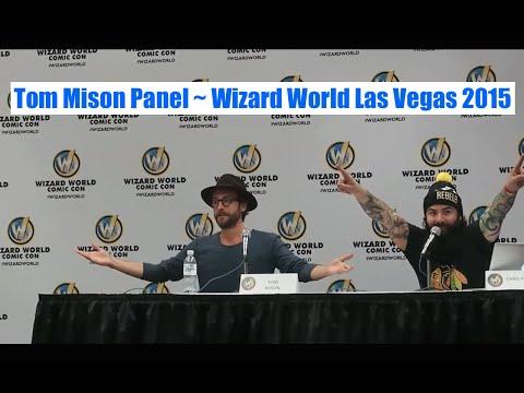 Tom Mison's Panel at  Wizard World Las Vegas 2015