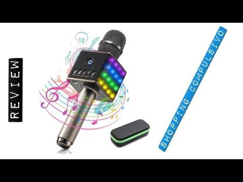 🥇 Microfono Bluetooth Karaoke 🎤Maxesla 💖⭐⭐⭐