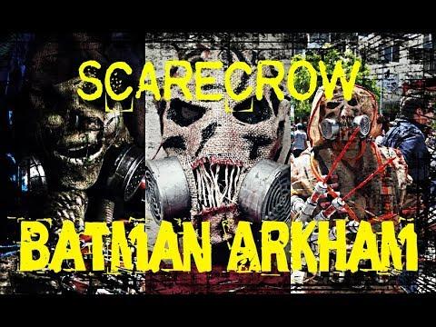 COSPLAY SCARECROW BATMAN  Arkham Asylum Knight .