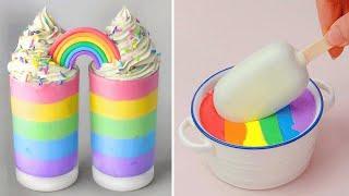 1000+ Oddly Satisfying Rainbow Cake Decorating Compilation | So Yummy Chocolate Cake Hacks Tutorials
