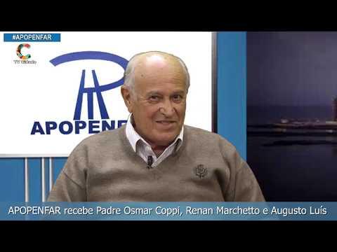 APOPENFAR recebe o Padre Osmar Coppi Renan Marchetto e Augusto Luís