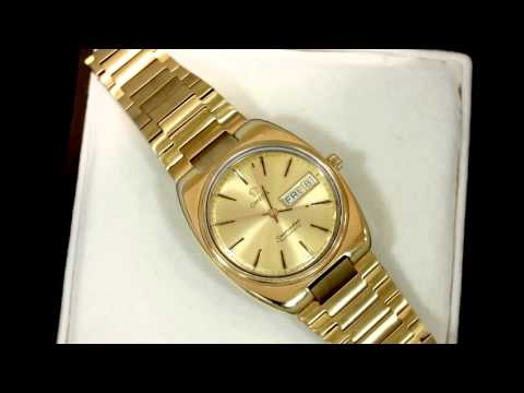 What is the best Solid Gold Aviation Wrist Watch? Omega ...