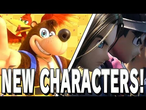 BANJO-KAZOOIE & DRAGON QUEST IN SMASH ULTIMATE!!!