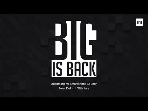 Mi Max 2 launch event | BIG IS BACK