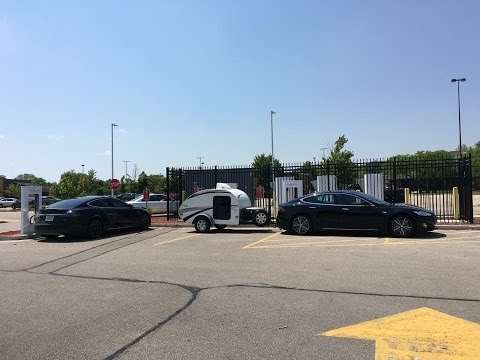 Tesla Motors: Energy Consumption Towing with a Tesla (properly aired tires this time)