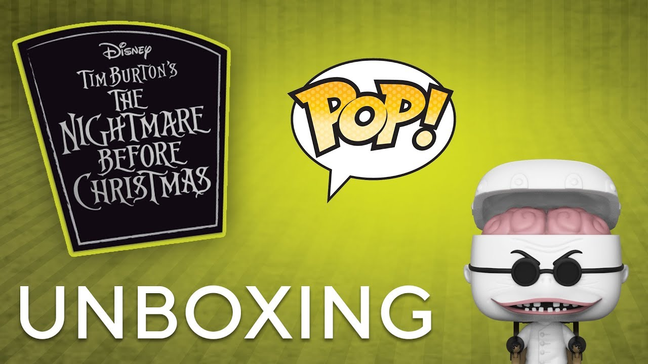Nightmare Before Christmas 25th Anniversary Pop! Unboxing - YouTube
