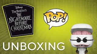 nightmare before christmas 25th anniversary pop  unboxing