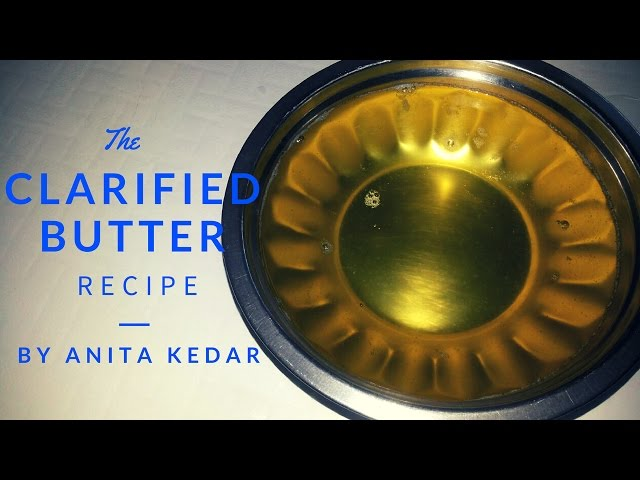 ??????? ?????  ??? ???? ????? Instant Clarified butter (Ghee) | Recipe By Anita Kedar