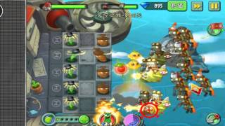 Plants vs Zombies 2 Chinese CASTLE IN THE SKY Day 18