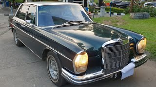 in depth tour mercedes benz 280s w108 1970 indonesia