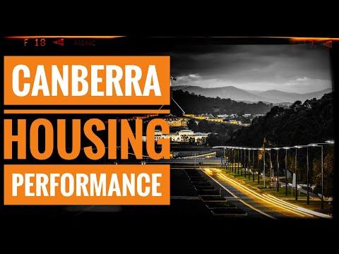 Canberra's Housing Performance