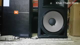 Sự thật về loa jbl 715 bass 40 giá rẻ coil 100 từ 220 giá 6tr8 Phần 2