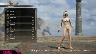 Soul Calibur VI: Making 2B Thiccer