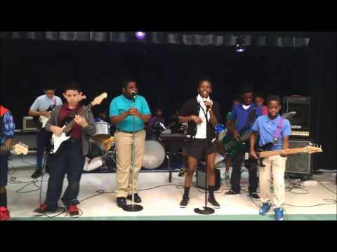 Michael Jackson's Beat It - By The Benoist Farms Elementary School Rock Band 2016