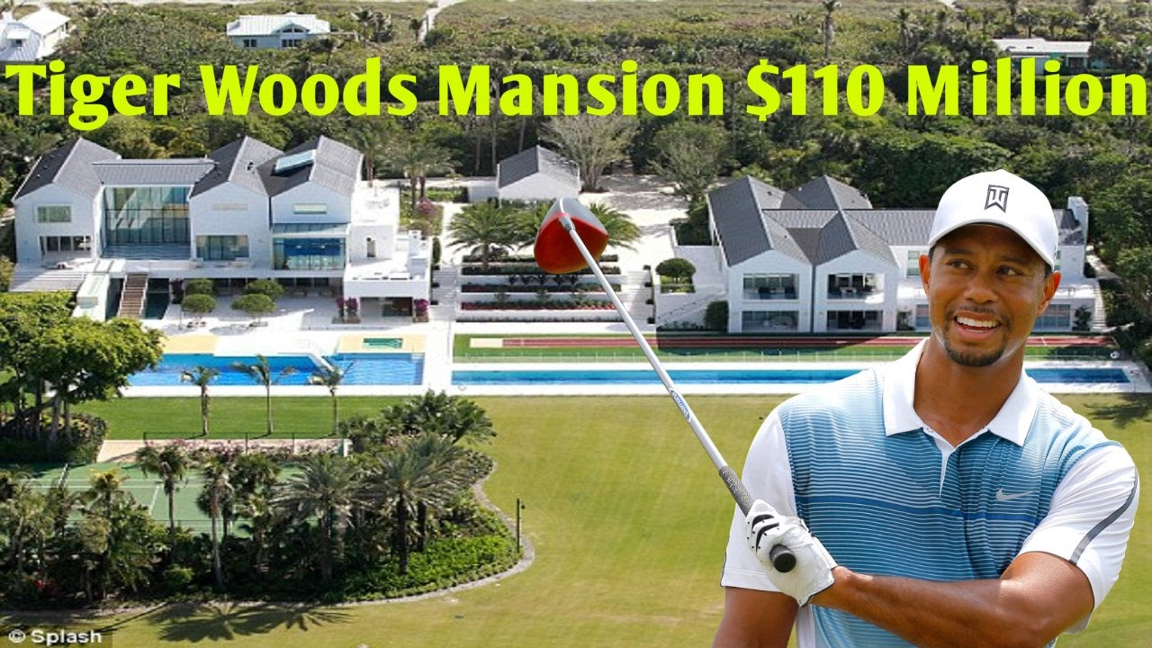 tiger woods mansion in florida  110 million