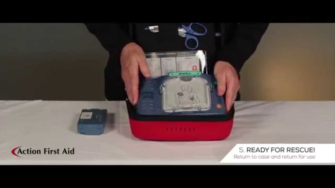 Phillips Onsite AED Battery Replacement