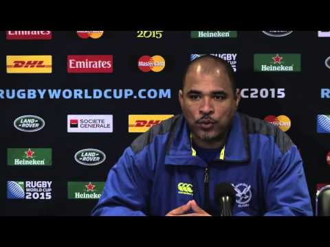 Post-game Interview New Zealand vs. Namibia RWC2015: John Williams