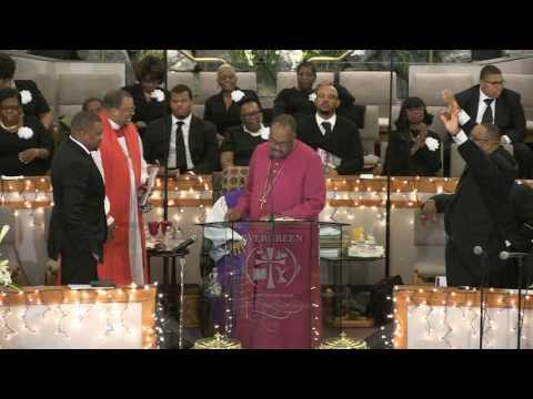 Evergreen Missionary Baptist Church Oakland HD, Bishop J. W. Macklin
