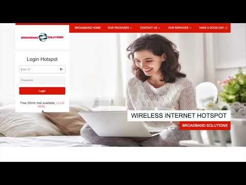 Broadband Solutions Hotspot