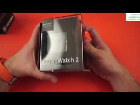 Sony Smartwatch 2: распаковка, первый взгляд