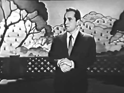 Perry Como - Stranger In Paradise - 1954 Live