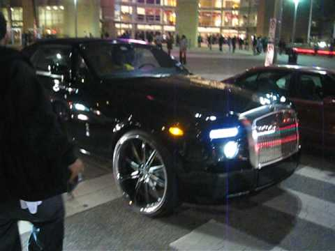 Drexel S Rolls Royce Phantom Drophead On Big Rims Youtube